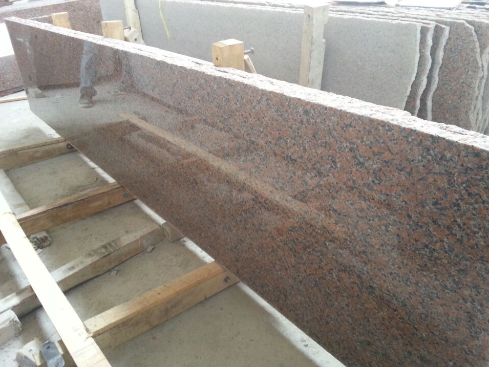 Maple Red Granite Polished