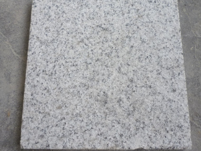 G601 White Granite Flamed Tiles