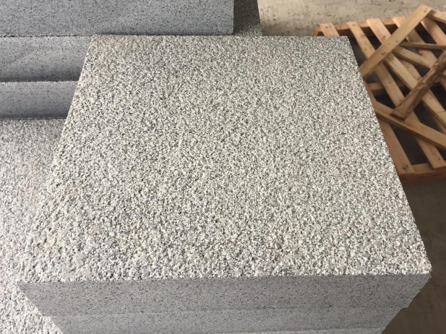 G654 Bush Hammered Granite Tiles