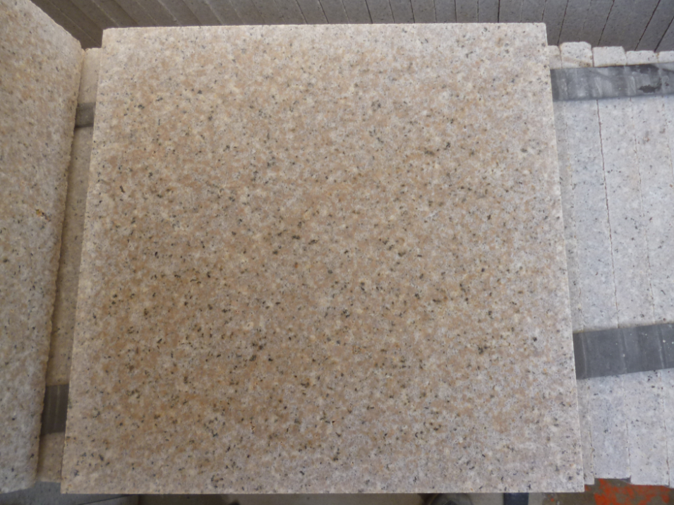 G682 Rusty Yellow Granite Honed