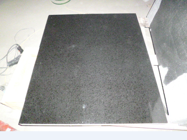 G684 Pearl Black Basalt Granite Polished Tiles