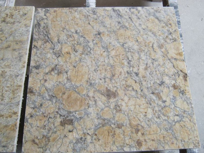 Golden Crystal Granite Tiles