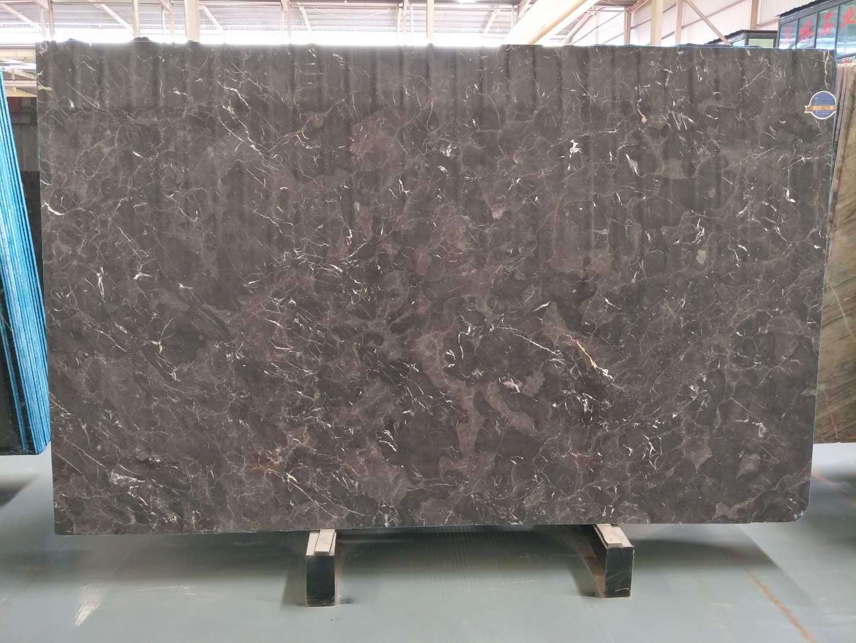 Dark Emperador Brown Marble Slabs