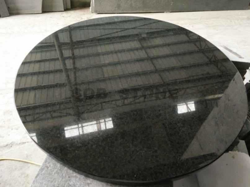G684 Pearl Black Granite Table Tops
