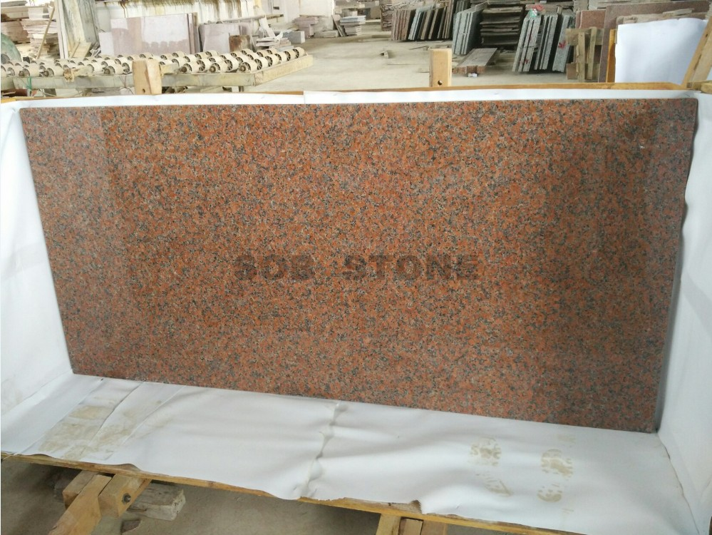 Maple Red Granite Kitchen Countertops