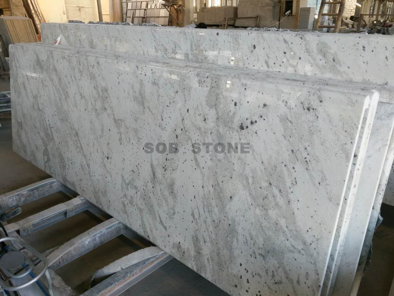 Royal White Granite Kitchen Countertops
