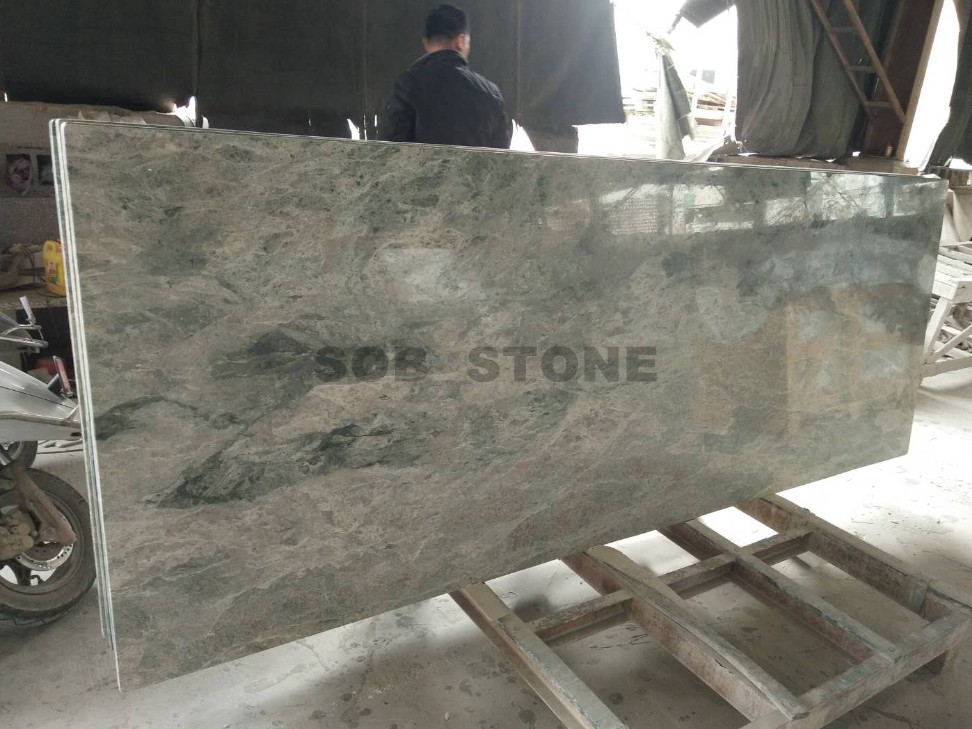 Wave Green Granite Countertops