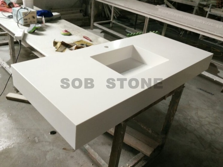 Engineering Stone Integrated Vanity Tops