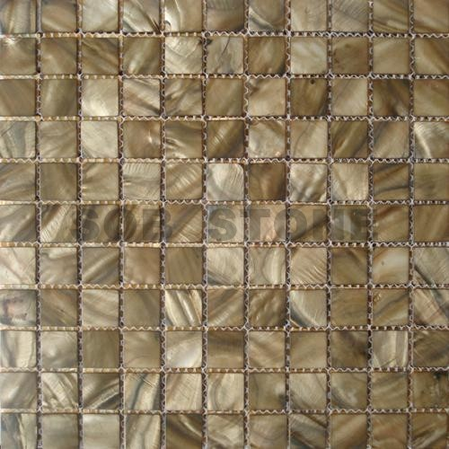 Coffee Mother of Pearl Mosaic Tiles