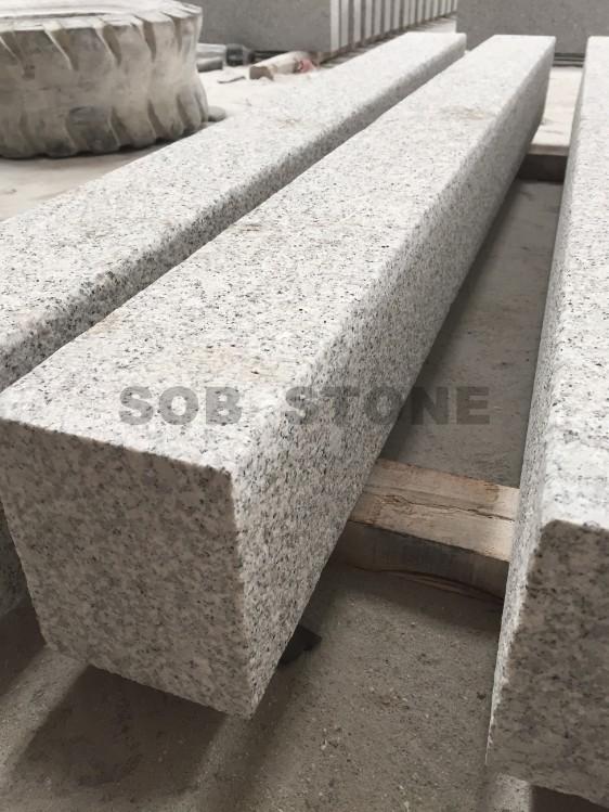 G603 Grey Granite Curbs Flamed